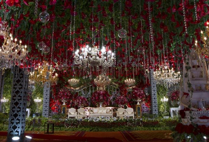 kombinasi dekorasi tradisional dengan a bohemian rustic dan country