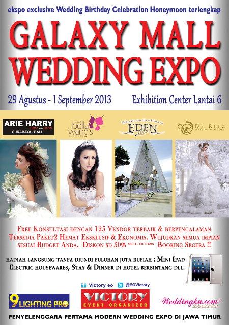 Hari Kamis Minggu Tanggal 29 Agustus 1 September 2018 Tempat Exhibition Center Lt 6 Galaxy Mall Surabaya